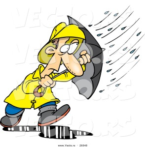 vector-of-a-stressed-cartoon-man-walking-through-a-nasty-rain-storm-with-an-umbrella-by-ron-leishman-26048