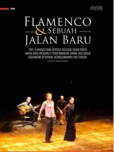 Ursula Lopez Dance Company, flamenco kontemporer, Úrsula López, Christian Lozano
