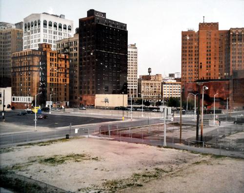 lanskap kota dalam bidikan lensa