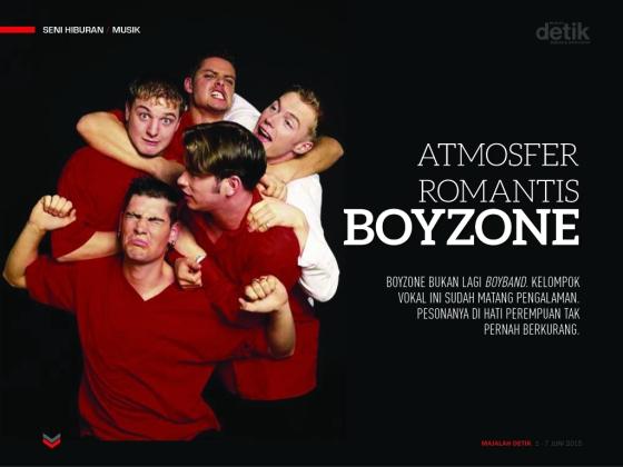 atmosfer romantis boyzone