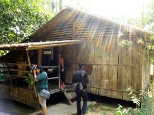 Rumah Suku Dusun. Foto: Silvia Galikano