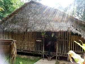 Rumah suku Rungus. Foto: Silvia Galikano