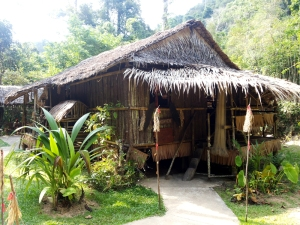 Rumah Suku Lundayeh. Foto: Silvia Galikano