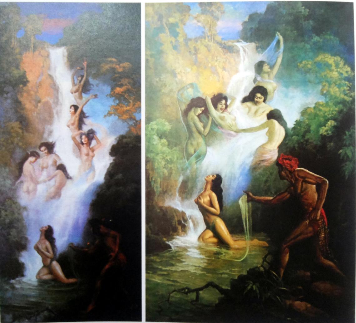 Djoko Tarub , basoeki abdullah, pelukis basoeki abdullah