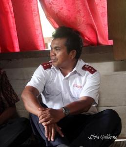 Kapten Gabriel Pela. Foto: Silvia Galikano
