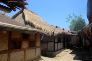 Rumah-rumah di Dusun Sade memiliki ukuran, bentuk, dan material seragam
