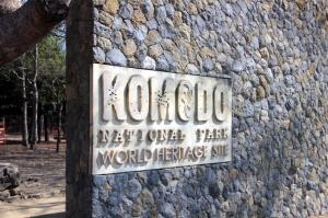 Selamat datang di Pulau Komodo