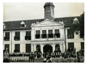 Museum Fatahillah Perayaan pernikahan Putri Juliana dan Pangeran Bernhard, 6-10 Jan 1937 KITLV