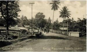 jembatan, jl raden saleh batavia, 1910an - kol bintoro hoepoedio