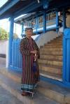 Imam Masjid Agung Keraton Buton. (Foto Silvia Galikano)