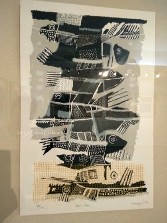 Ikan-ikan, 58,5x37, 1983. (Foto: Silvia Galikano)