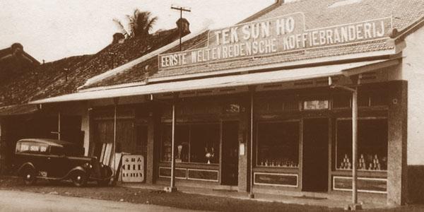 Tek Sun Ho, cikal bakal Bakoel Koffie.