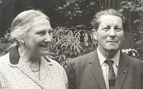 Gerrit Rietveld dan Truus Schröder (Dok. The Telegraph)