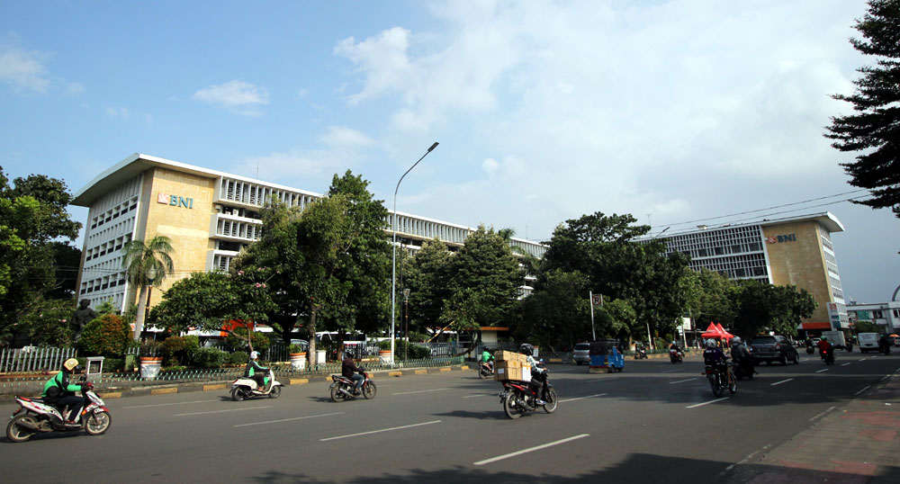 Gedung BNI di Jalan Lada, Kotatua, Jakarta