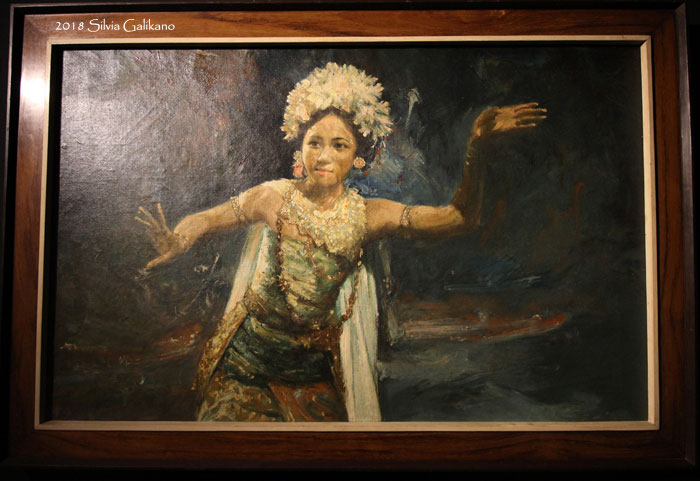 Trubus Soedarsono, BALINESE DANCER