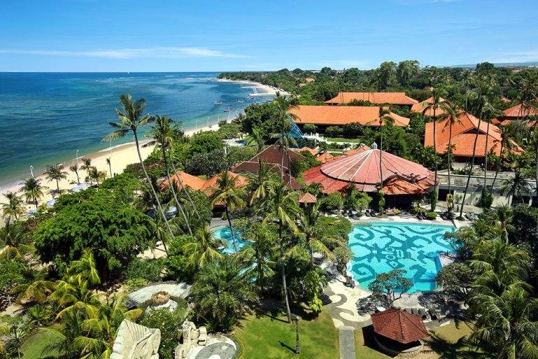 bali beach hotel, kuta, bali