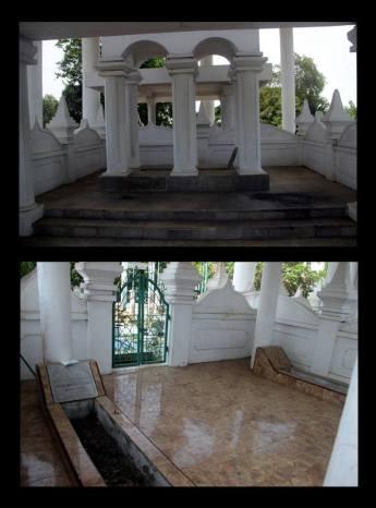 Sentot Alibasyah Prawirodirjo, makam, bengkulu